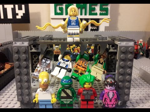 Lego Field Games Season 2 Episode 4 - Monkey Bars
