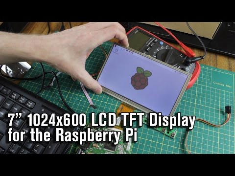 7 Inch 1024*600 LCD Touch Screen for the Raspberry Pi