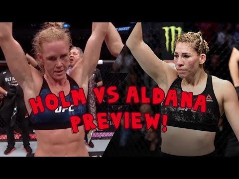 Holly Holm vs. Irene Aldana Preview