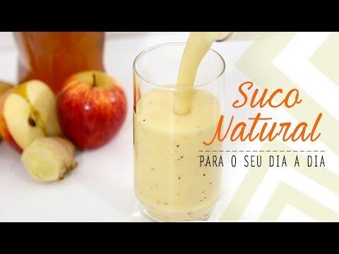 SUCO DE ABACAXI, BANANA E MAÇÃ #04
