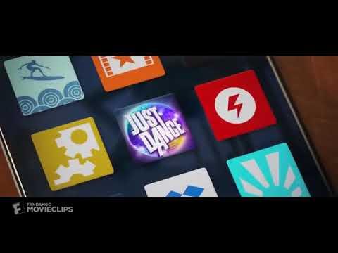 Alex deletes the just dance app