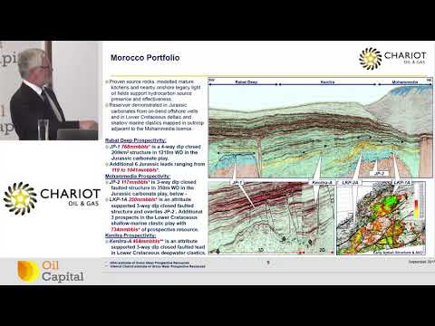 Chariot Oil & Gas CEO Larry Bottomley presents to investors at Oil Capital Conference