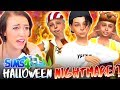 HALLOWEEN   NATHAN S BIRTHDAY       The Sims 4 IN THE SUBURBS  33