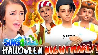 👻HALLOWEEN + NATHAN'S BIRTHDAY!🎁 (The Sims 4 IN THE SUBURBS #33! 🏘)