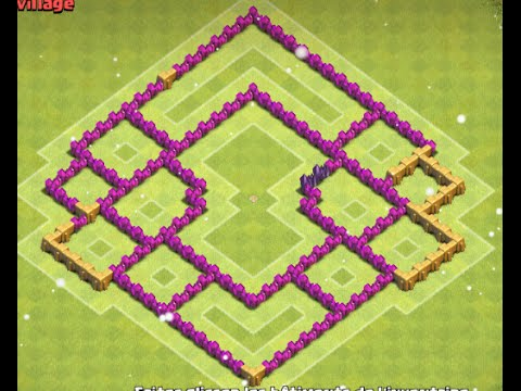 Coc village defence hdv 7 avec le roi des barbares by stigtom youtube - Le grill des barbares ...