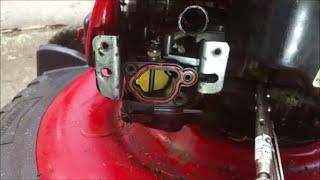 Troy-built TB110, TB200. Craftsman 550 EX push lawn mower complete carburetor cleaning