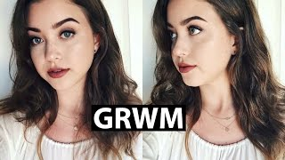 Chatty GRWM | MAC All That Glitters & Twig lipstick | lindseyrem