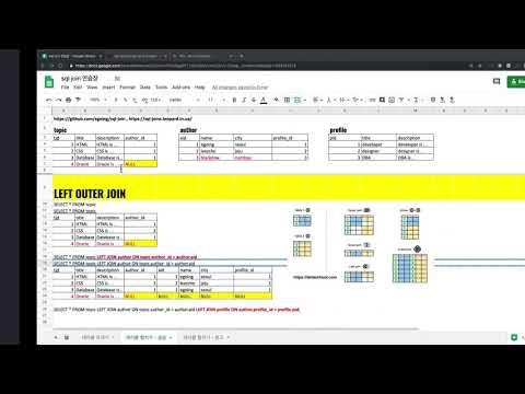 SQL JOIN - 4. LEFT JOIN