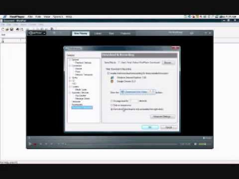 How to turn on Download this video in Realplayer