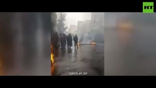 Deadly riots across Iran as govt pushes 50% petrol price increase