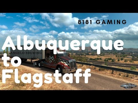 Driving from Albuquerque (New Mexico) to Flagstaff (Arizona)