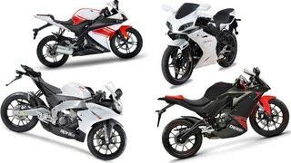 The Best 125ccm Supersport Bikes - Yamaha, Derbi, Aprilia, Megelli