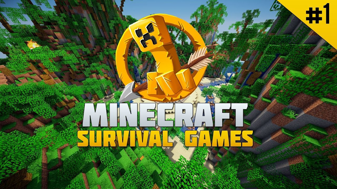 Minecraft survival games gameplay 1 youtube for Mine craft hunger games