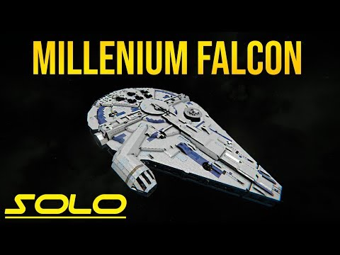 SOLO MILLENNIUM FALCON - Star Wars - Space Engineers!