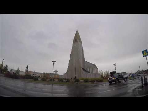 Driving Around Reykjavik Iceland