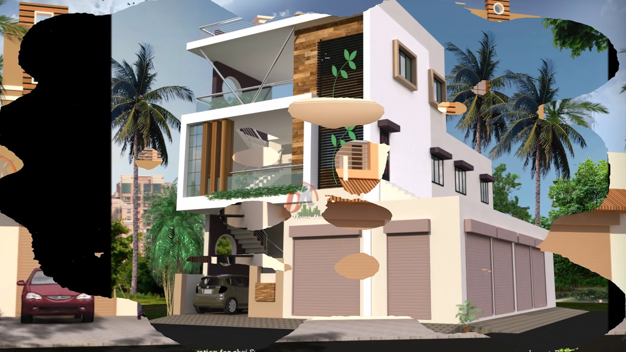 House Plans With Attached Shop In India Youtube