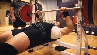 14.12.14 г. Кронштадт, жим лежа  165 кг - Сергей Юшко.
