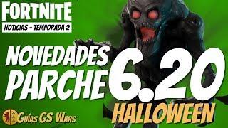 TODAS LAS NOVEDADES del PARCHE 6.20 de FORTNITE | Halloween, héroes de regalo, nueva Mítico...