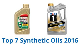 7 best synthetic oils 2016
