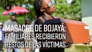 Masacre de Bojayá: después de 17 años, víctimas recibirán una sepultura digna - El Espectador
