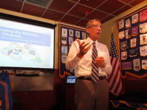 September 6, 2013, Jim Prosser, Executive Director of the Centralina Council of Governments