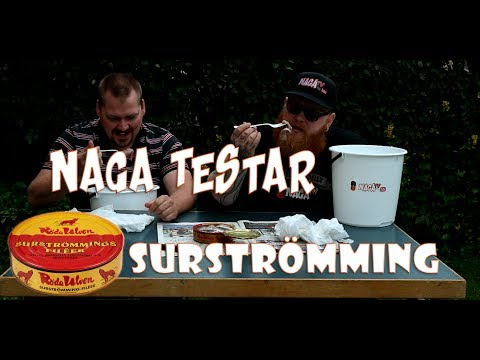 NAGA-TESTAR   Surströmming ft. Let´s Taste Johnny *VOMIT/GAG ALERT*
