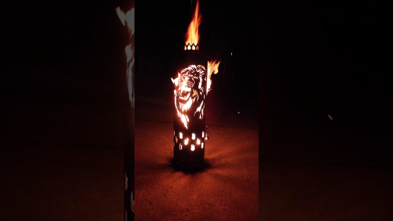 Jm Feuer Shop feuerstelle löwe jm feuer metallmanufaktur