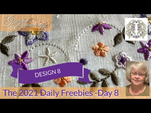 Introducing the 2021 Daily Freebies - Day 8