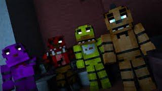 Minecraft Build Timelapse - Freddy Fazbear Pizzeria Ep .2 - Herna,Kuchyně,Malý dětský koutek! - Cz