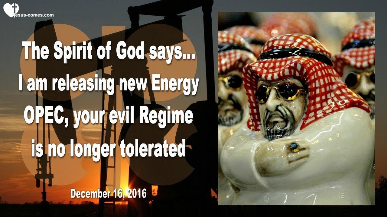 I AM RELEASING NEW ENERGY… OPEC, YOUR EVIL REGIME IS NO LONGER TOLERATED ❤️ Thru Mark Taylor #Regime