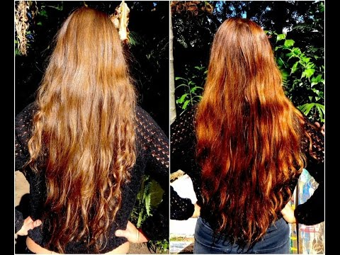 how to get brown hair with henna