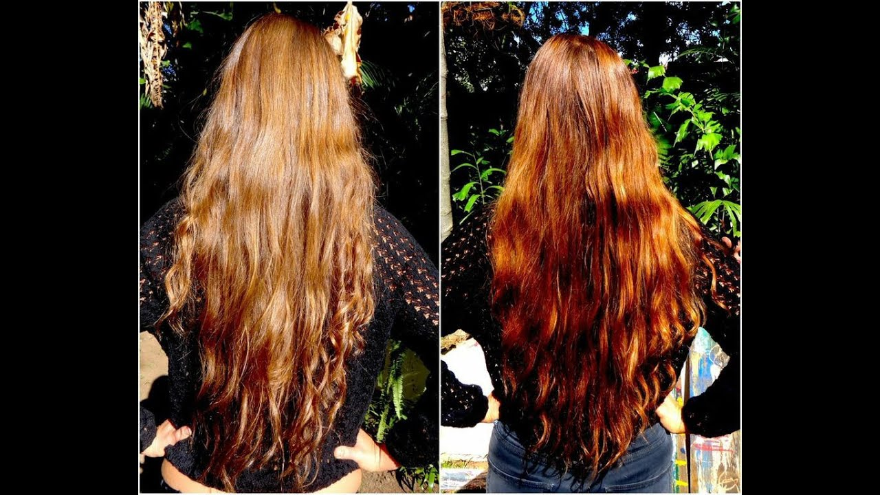 How To Dye Hair With Henna Lush Henna Dye Review Youtube