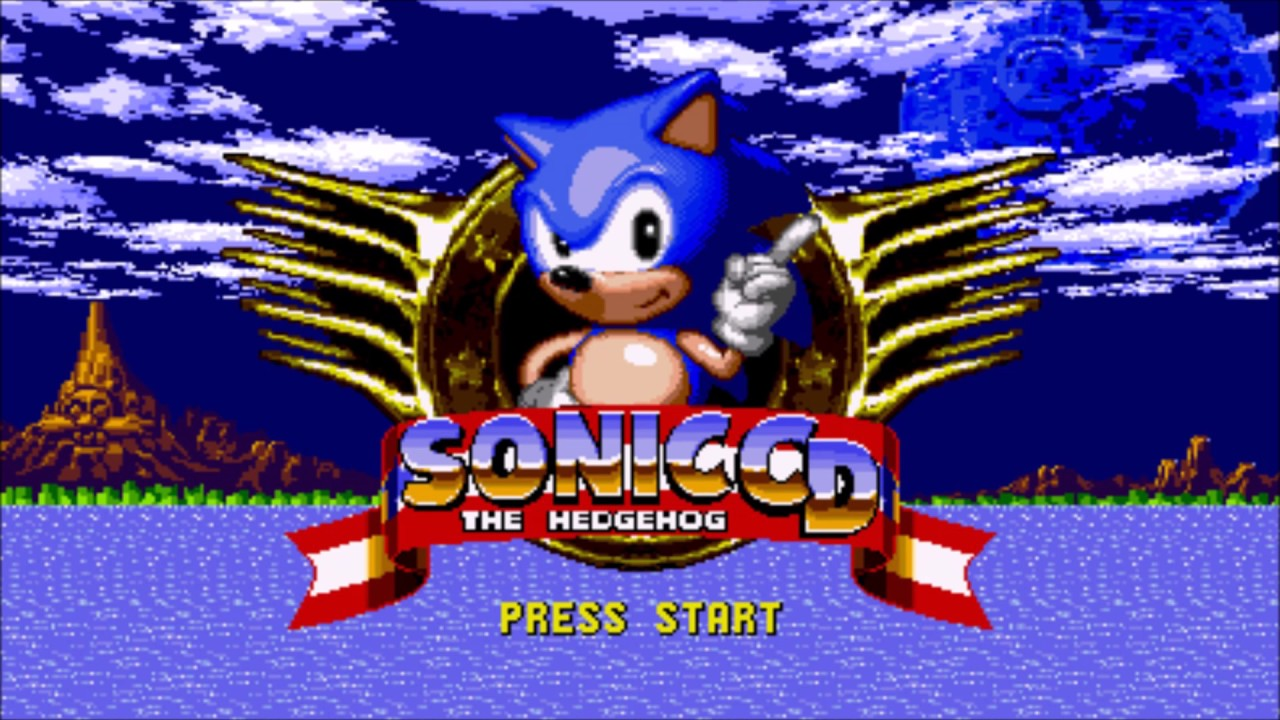 Sonic Cd Ost Title Screen Music Us Youtube