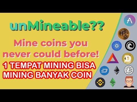 1 TEMPAT MINING BISA MINING BANYAK COIN |MIning di Unmineable? | Mining Bitcoin, Dogecoin, BNB