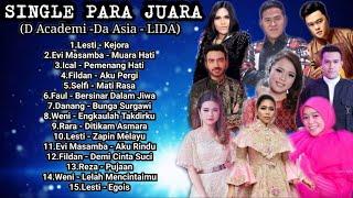 Kumpulan Lagu SANG JUARA | D Academy - Da Asia - LIDA Full Album Enak di Dengar