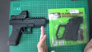 CYMA - CM.030 - GLOCK G18C - G-KRISS XI 衝鋒槍套件