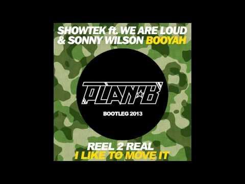 Showtek Vs Reel 2 Real: I Like The Booyah It (Plan-Bootleg)