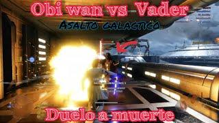 Star wars battoefront 2 asalto galáctico obi wan vs lord vader
