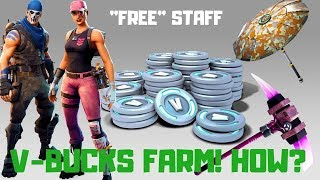 Fortnite - V-Bucks Farm Tutorial STW (2019 Remastered)
