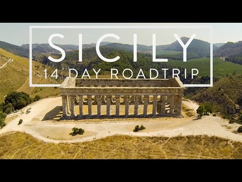 14 days around Sicily - Italy | Aerials with Phantom 2 drone | GoPro