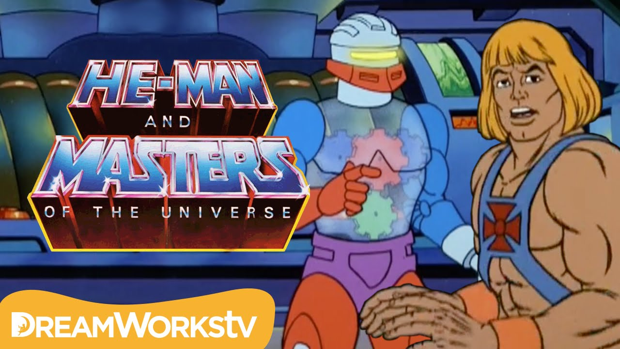 He-Man Finds Roboto With Man-At-Arms | HE MAN AND THE