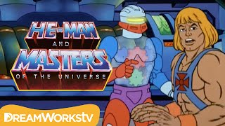 He-Man Finds Roboto With Man-At-Arms | HE MAN AND THE MASTERS OF THE UNIVERSE