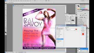 Sam Heights: DJ Flyer Design (Photoshop)