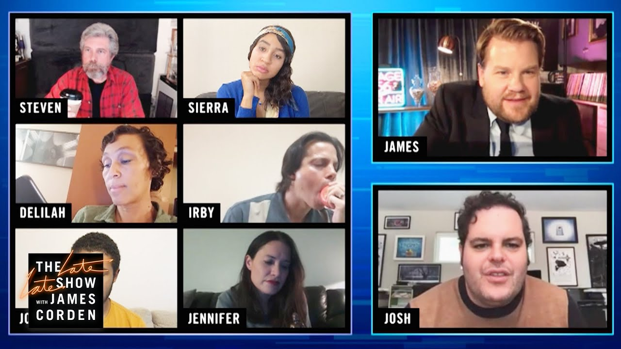 Frozen or posen with Josh Gad and Tribute Actors