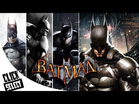 The Evolution of: Batman Arkham