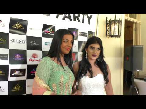 All White Party with Mugdha Godse ( Bollywood Actress) in Melbourne  - Part 1 by P TV Melbourne