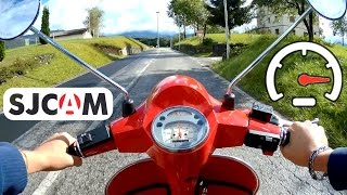 Video Piaggio Vespa PX 125 4 Gears Acceleration and Max Speed Test - Video with SJCAM M20 Action Cam download MP3, 3GP, MP4, WEBM, AVI, FLV November 2017