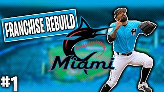 MIAMI MARLINS REBUILD! Ep  1 | MLB The Show 19 Franchise