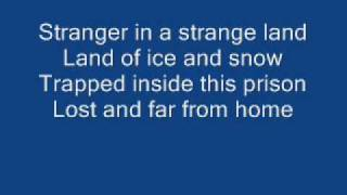 Iron Maiden - Stranger in a Strange Land [ WITH LYRICS ]