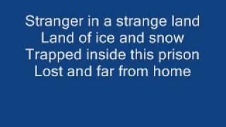 Iron Maiden - Stranger in a Strange Land [ WITH LYRICS ]